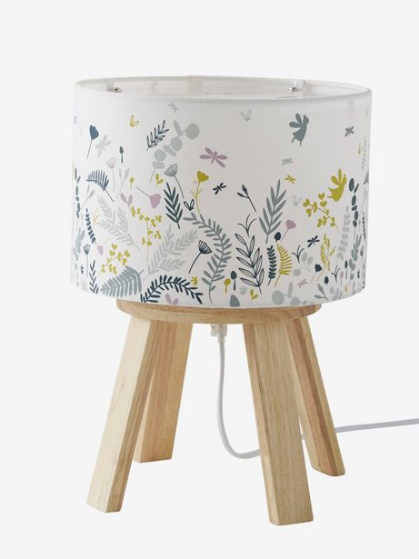 Lampe de chevet sur pieds Botanique - blanc offre à 36,99€