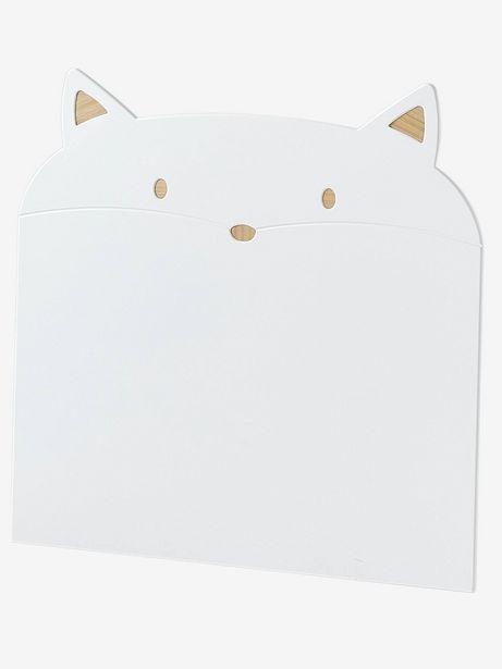 Tête de lit Chat - blanc offre à 79,99€