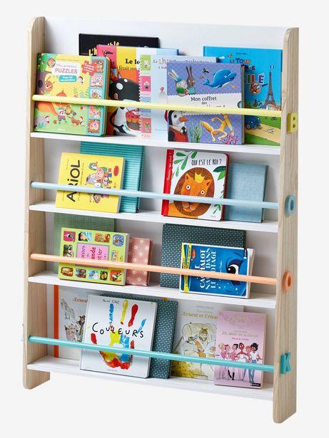 Présentoir à livres Books - blanc/bois offre à 74,99€