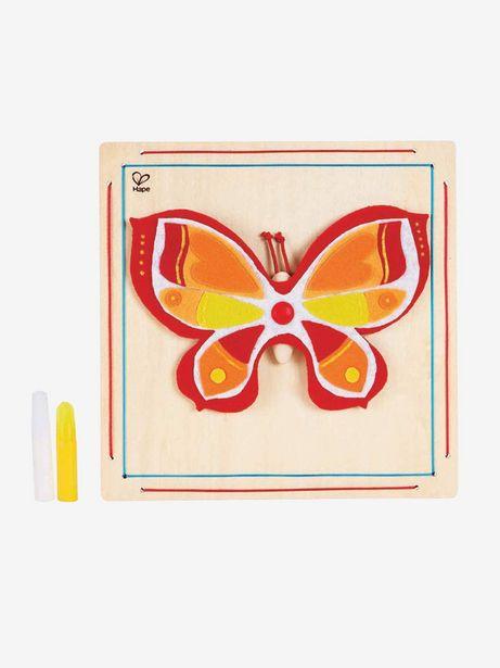 Kit cadre feutrine papillon - multicolore offre à 4,49€