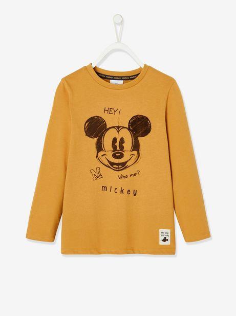 T-shirt manches longues Disney® Mickey garçon - moutarde... offre à 15,99€