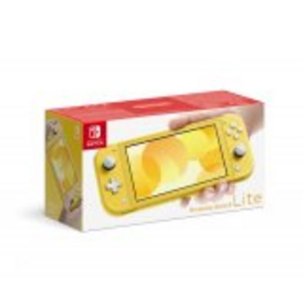 Console Nintendo Switch Lite Jaune offre à 201,99€