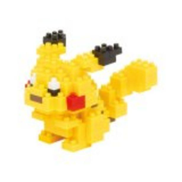 Pikachu Pokemon Nanoblock offre à 11,99€