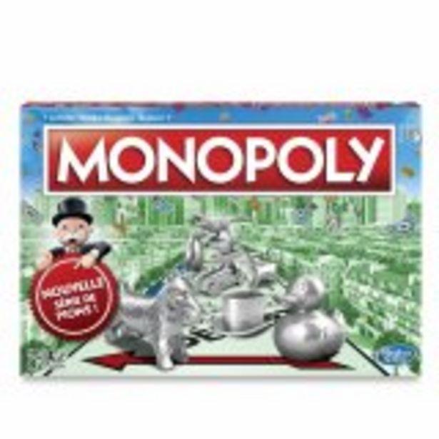 Monopoly Classique - Jeu de societe - Jeu de plateau offre à 22,99€