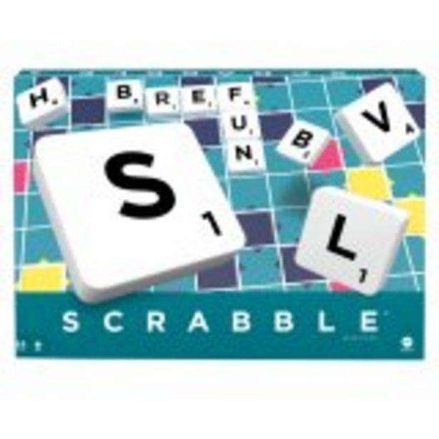 Mattel Games - Scrabble Classique - Jeu de Société - 10 ans et + offre à 22,99€