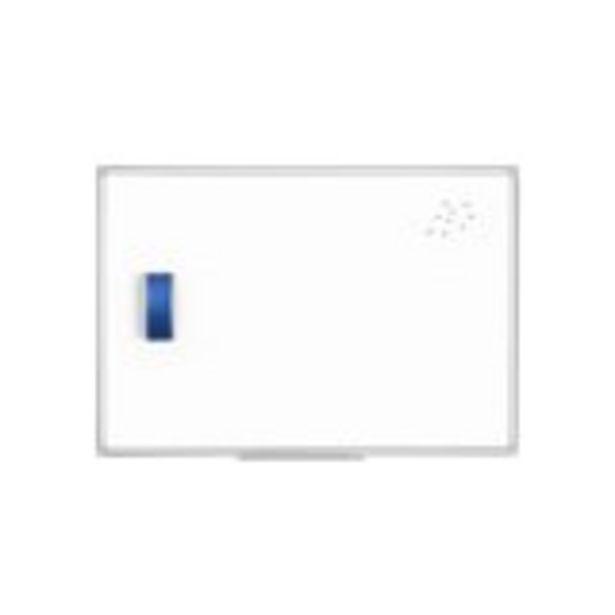 Tableau blanc avec cadre aluminium - 45 x 60 cm offre à 16,29€