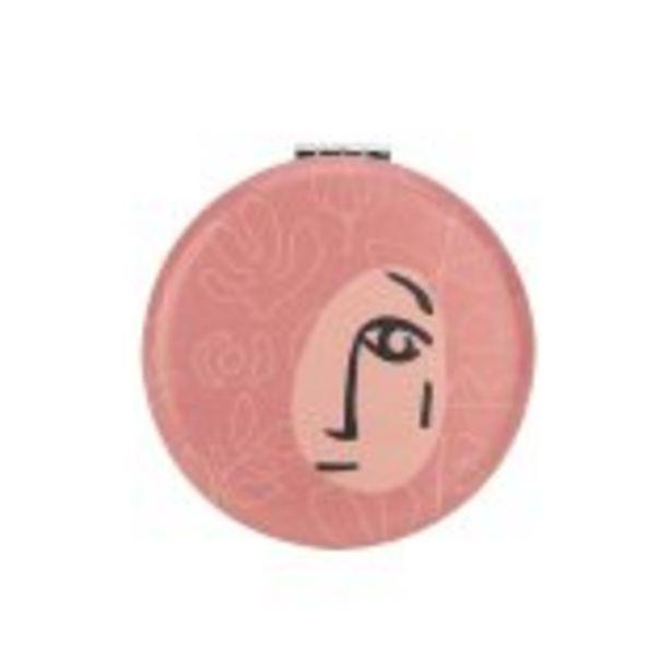 Miroir de poche « Tribal Faces » » - Cultura offre à 2,49€