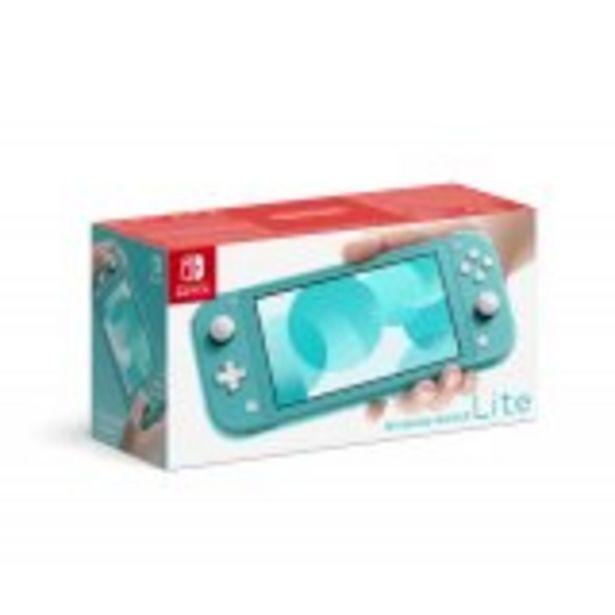 Console Nintendo Switch Lite Turquoise offre à 201,99€