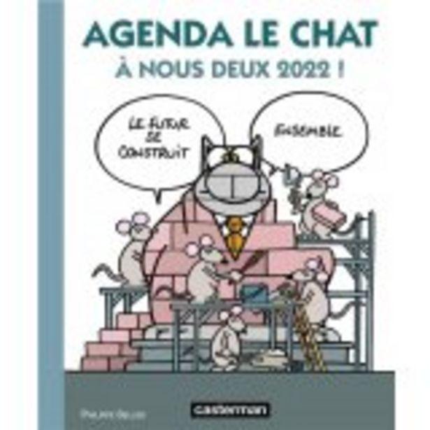 Agenda le chat 2022 offre à 15€