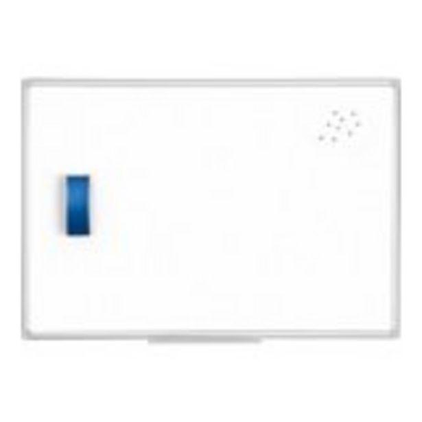 Tableau blanc avec cadre aluminium - 60 x 90 cm offre à 23,99€