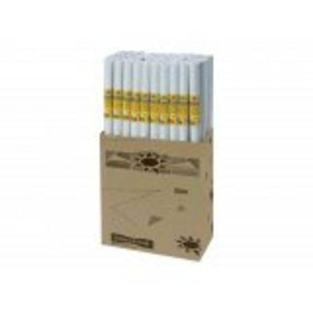 Rouleau papier kraft dessin blanc offre à 4,99€