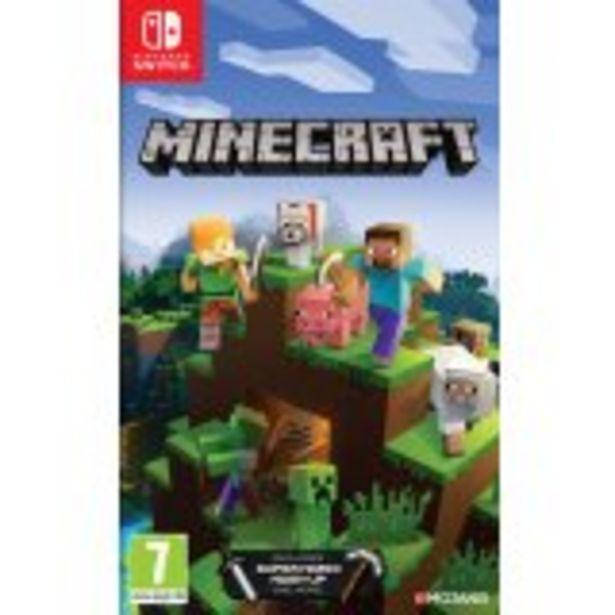 Minecraft : Nintendo Switch Edition offre à 29,99€