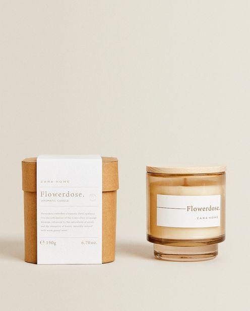 (190G) Bougie Parfumée Flowerdose offre à 17,99€