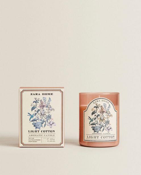 (330G) Bougie Parfumée Light Cotton offre à 19,99€