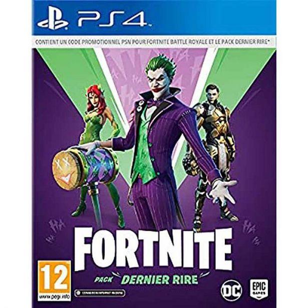 Jeu vidéo PS4 FORTNITE PACK DERNIER RIRE offre à 29,95€