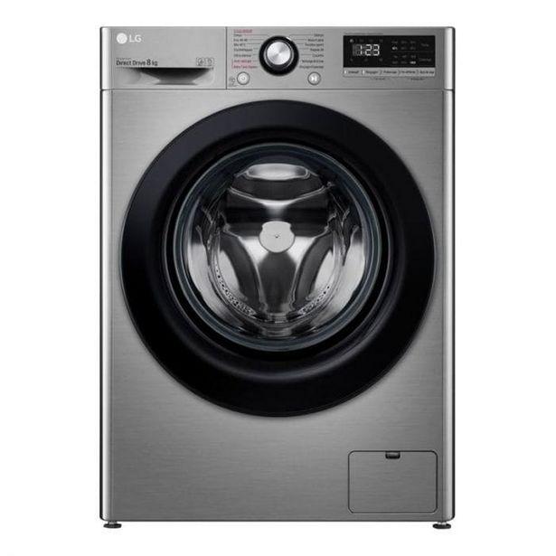 Lave-linge hublot 8 kg LG F84N15STS offre à 418,9€