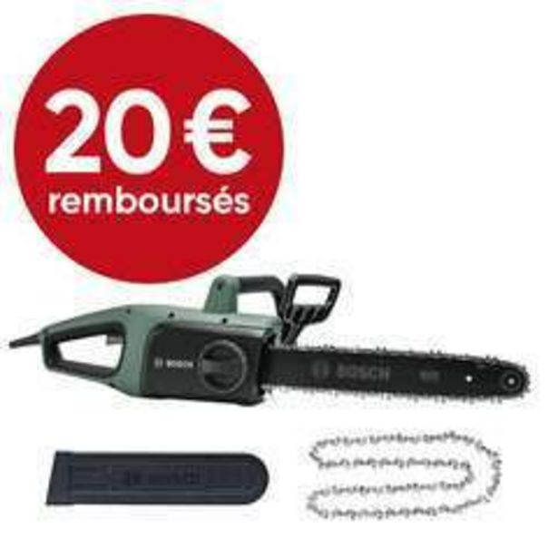 Bosch - Tronçonneuse filaire UniversalChain 35 + 2ème chaine offre à 119,95€