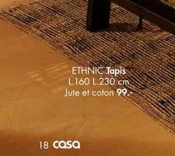 ETHNIC tapis offre à 99€