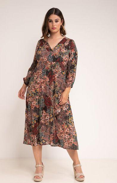 Robe longue col v offre à 85,95€