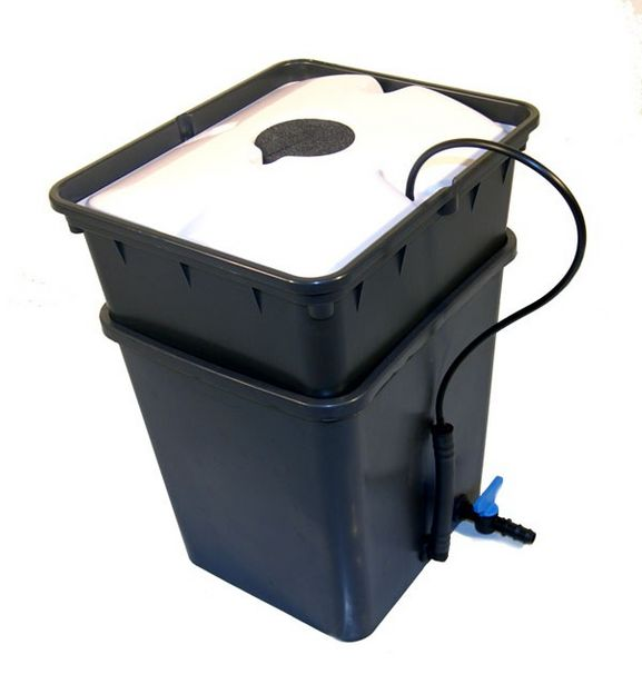 Pot aéroponique complet Pous Pouss version Aero1 - Platinium Hydroponics - offre à 31,92€