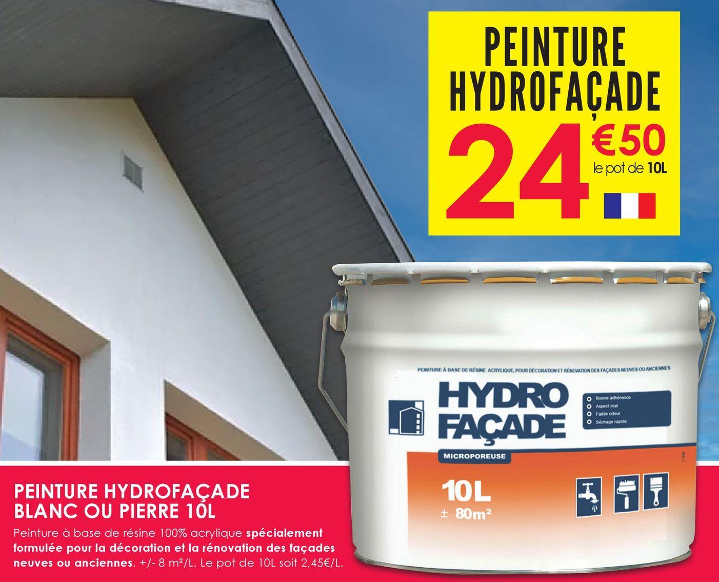Peinture Hydrofaçade  offre à 24,5€