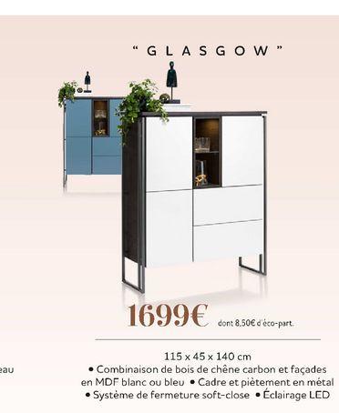 """""""Glasgow"""" offre à 1699€"""