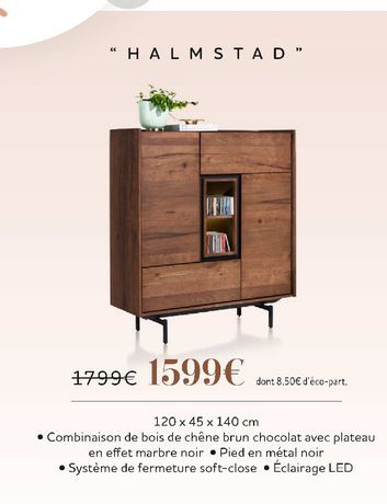 """Halmstad"" offre à 1599€"