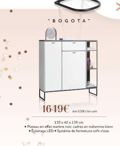 """""""Bogota"""" offre à 1649€"""