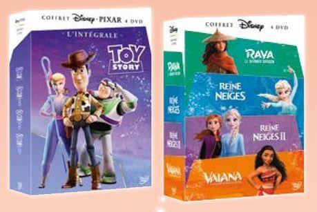 COFFRETS ENFANTS 4 DVD  offre à 29,99€