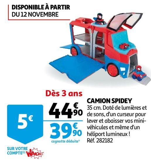 CAMION SPIDEY offre à 39,9€