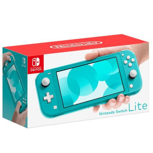 CONSOLE SWITCH LITE TURQUOISE  offre à 199,99€