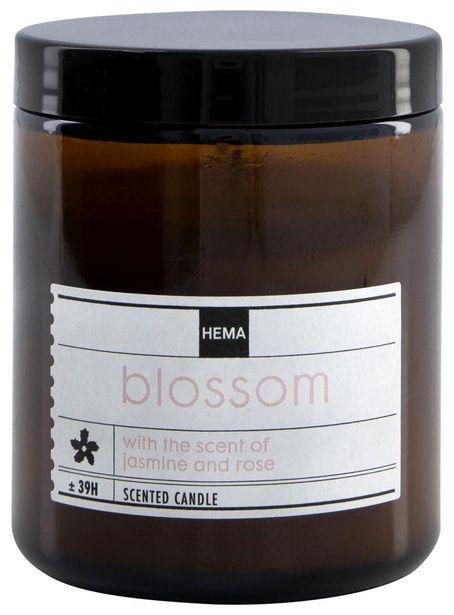 Bougie parfumée dans un verre Ø7 blossom offre à 5€