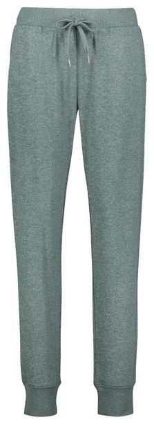 Pantalon de pyjama femme en viscose vert offre à 20€