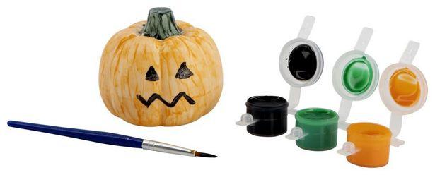 Kit de peinture citrouille Halloween offre à 2,75€