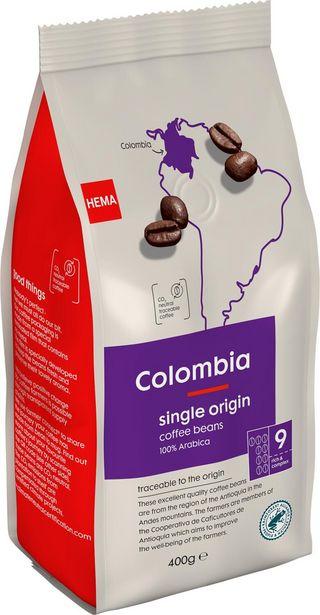 Café en grains Colombia 400g offre à 6€