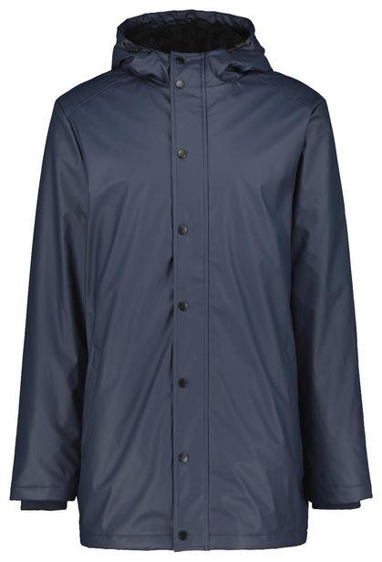 Veste homme à capuche bleu foncé offre à 50€