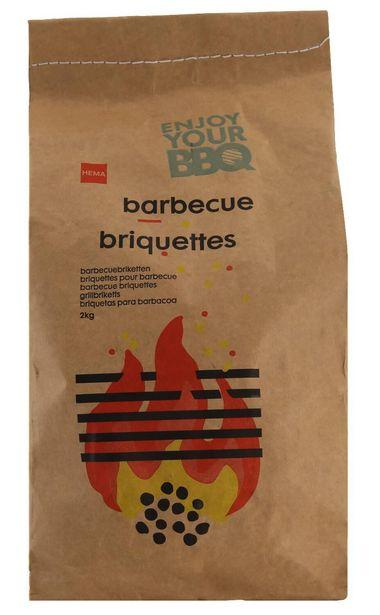 Briquettes barbecue 2 kg offre à 4€