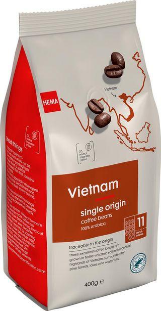 Café en grains Vietnam 400g offre à 6€