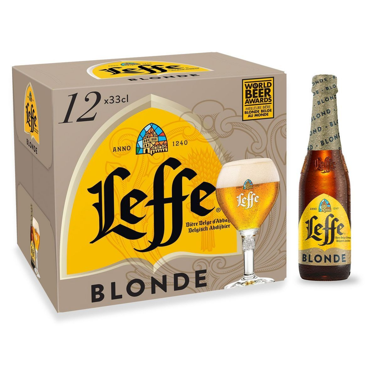 Bière blonde Leffe offre à 13,99€