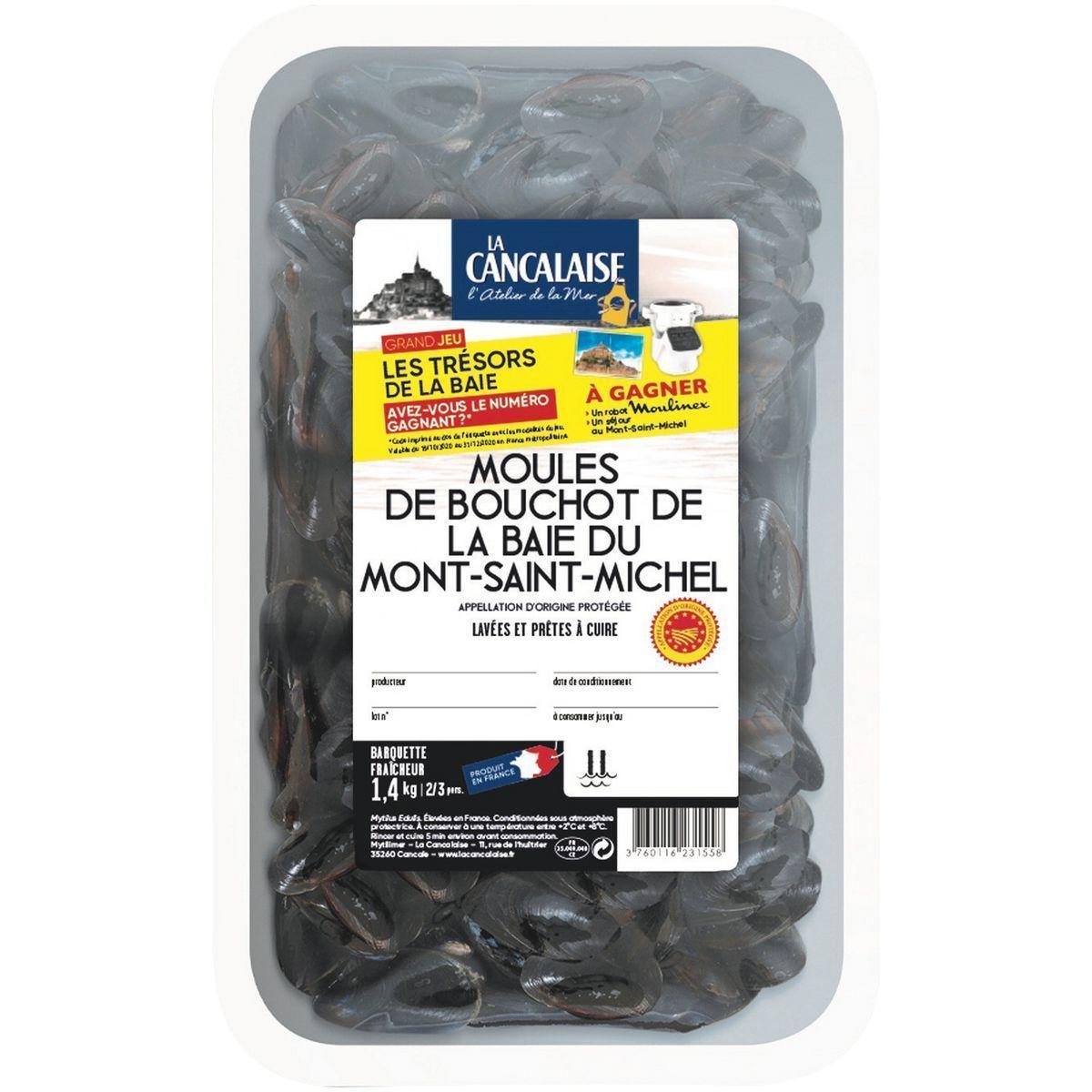 Moules de bouchot AOP du mont saint michel offre à 3,99€