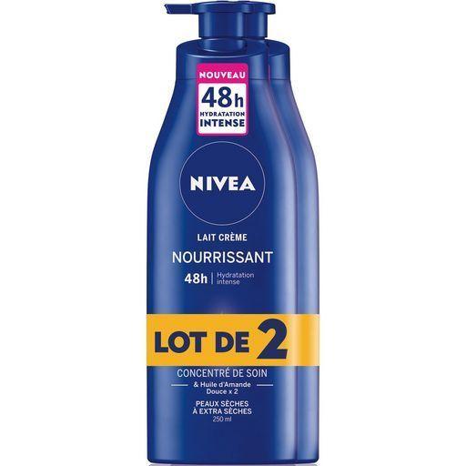 Lait nourrissant peaux extra seches Nivea offre à 3,18€