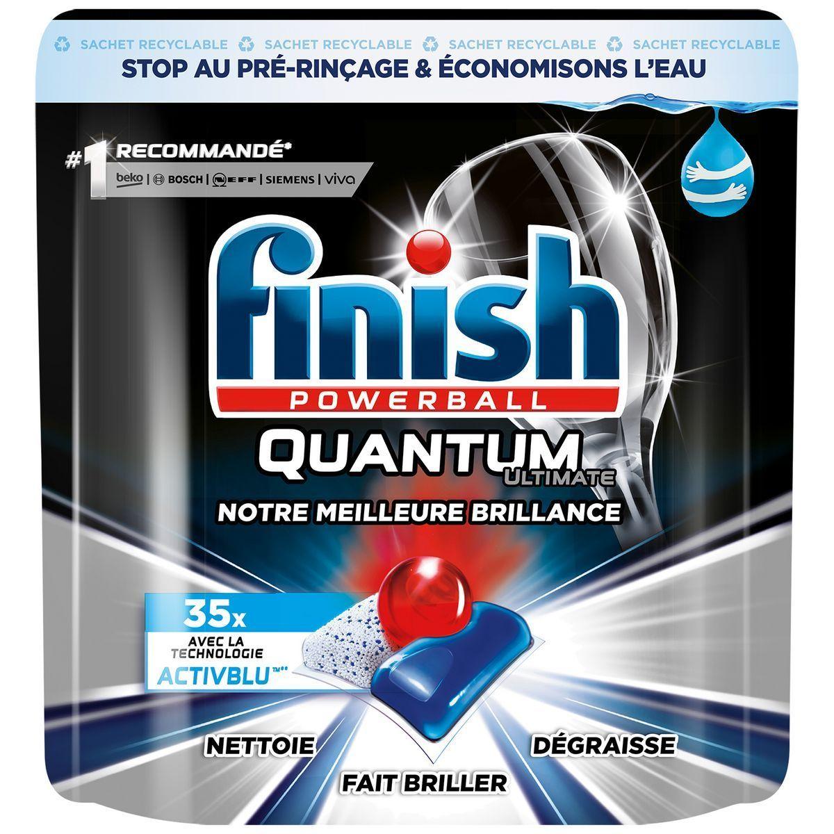 Tablettes lave-vaisselle Finish tout en 1 offre à 6,29€