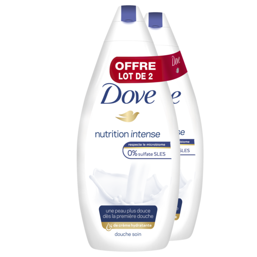 Gel douche Dove offre à 9,99€