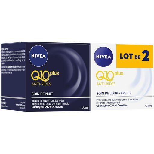 Crème visage Q10 plus jour anti-rides Nivea offre à 16,84€