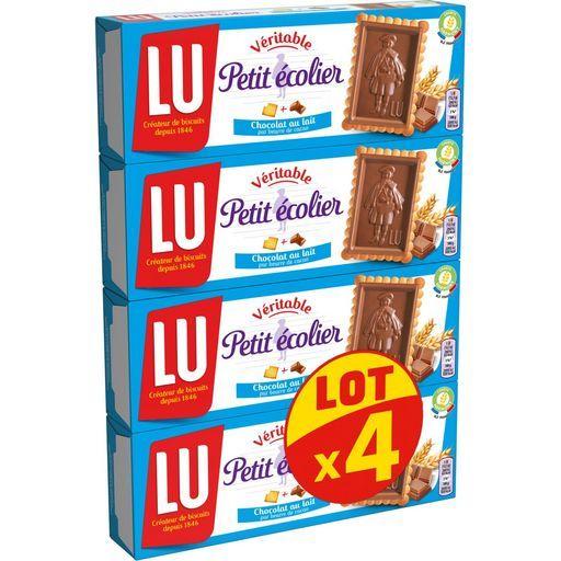Petit ecolier au chocolat au lait Lu offre à 6,27€
