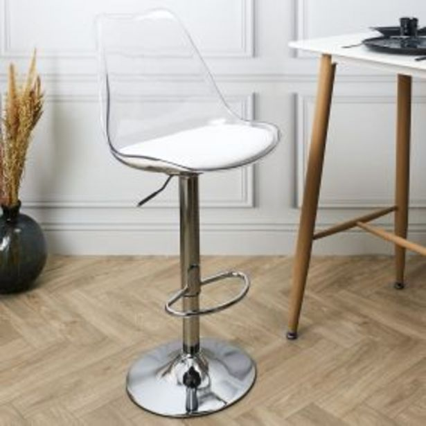 CHAISE DE BAR UP AND DOWN BLANCHE offre à 119€
