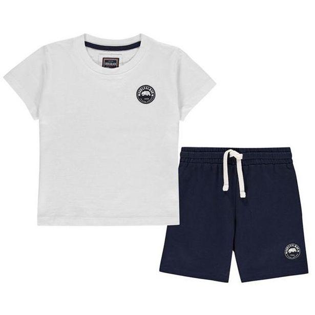 SoulCal Signature Pyjama Short Set Junior Boys offre à 9€