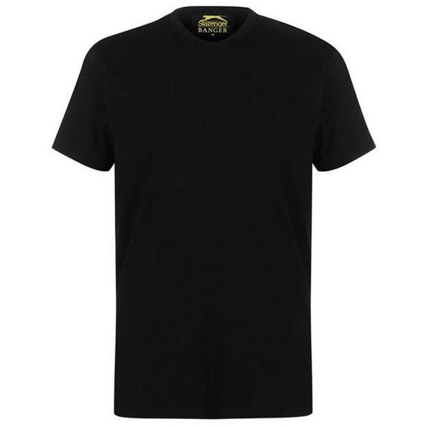 Slazenger Banger Plain T Shirt Mens offre à 6€