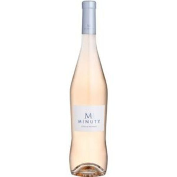 M de Minuty Côtes de Provence 2020  - Vin rosé de Provence offre à 12,75€
