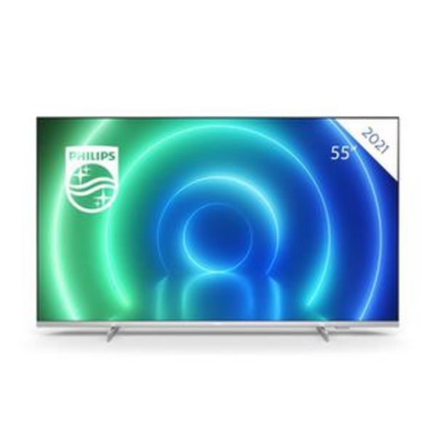 """PHILIPS 55PUS7556 - TV LED UHD 4K - 55"""" (139cm) - Smart TV - Dolby Vision / son Dolby Atmos - 3 X HDMI (2 X HDMI VRR) offre à 513,99€"""